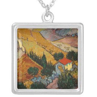 Collier Paysage de Vincent van Gogh | avec la Chambre et