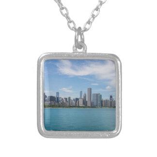 Collier Paysage urbain de jour de Chicago