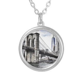 Collier Paysage urbain Etats-Unis de ville d'horizon