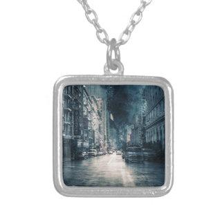 Collier Paysage urbain orageux