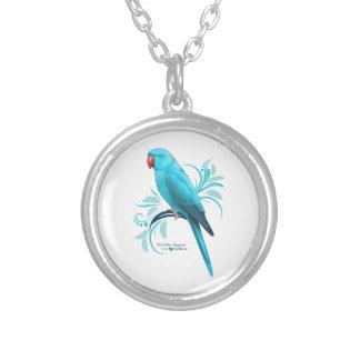 Collier Perroquet bleu de Ringneck d'Indien