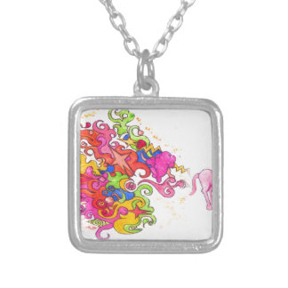 Collier Pet de licorne