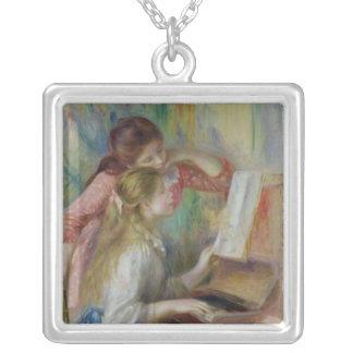 Collier Pierre jeunes filles de Renoir un | au piano