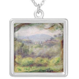 Collier Pierre un paysage de Renoir | chez Les Collettes