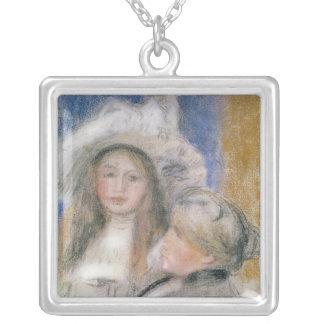 Collier Pierre un Renoir | Berthe Morisot et sa fille