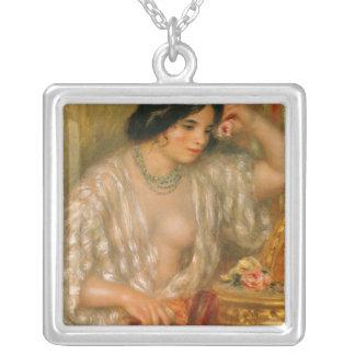 Collier Pierre un Renoir   Gabrielle avec des bijoux