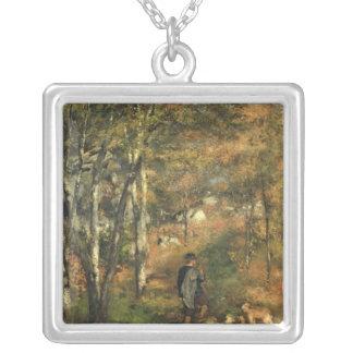 Collier Pierre un Renoir | Jules Le Coeur dans la forêt