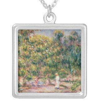 Collier Pierre une femme de Renoir | dans le jardin de Les