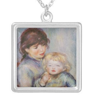 Collier Pierre une maternité de Renoir  , enfant avec un