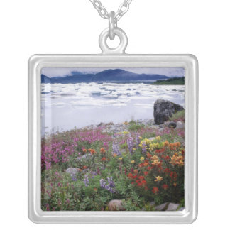 Collier Pinceau, de loup, Fireweed. Icebergs Russell