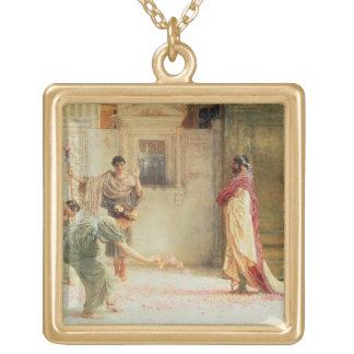 Collier Plaqué Or Alma-Tadema | Caracalla : ANNONCE 211, 1902