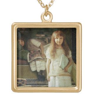 Collier Plaqué Or Alma-Tadema | ceci est notre coin, 1873