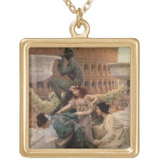 Collier Plaqué Or Alma-Tadema | le Colisé, 1896