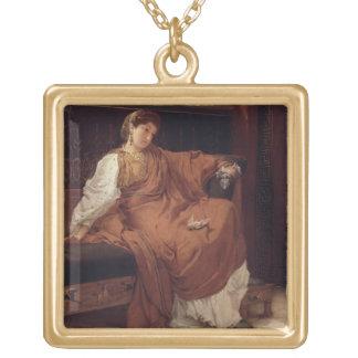 Collier Plaqué Or Alma-Tadema | Lesbia pleurant au-dessus d'un