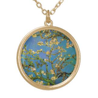 Collier Plaqué Or Arbre d'amande de floraison par Van Gogh,