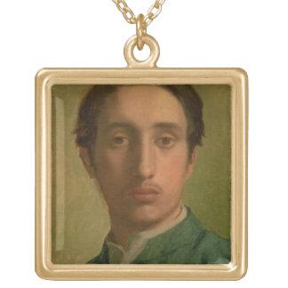 Collier Plaqué Or Autoportrait d'Edgar Degas |