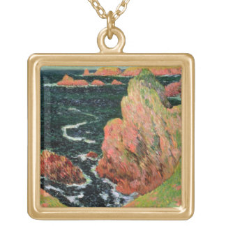 Collier Plaqué Or Belle Ile de Claude Monet |