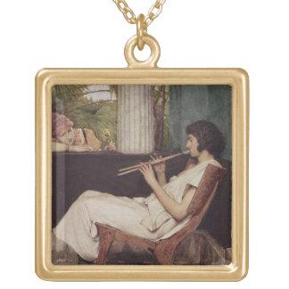 Collier Plaqué Or Charmes de Hath de musique d'Alma-Tadema |