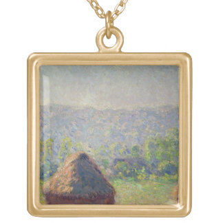 Collier Plaqué Or Claude Monet | la fin de l'été, chez Givern