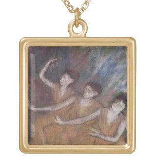 Collier Plaqué Or Danseuses d'Edgar Degas | Trois