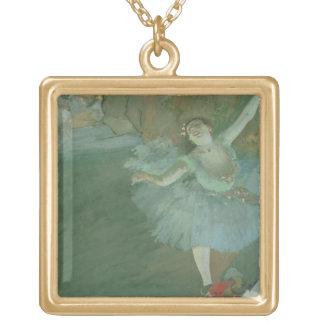 Collier Plaqué Or Edgar Degas | l'arc de l'étoile, c.1880