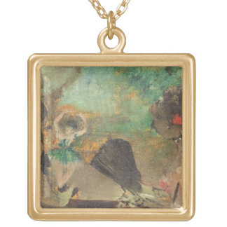 Collier Plaqué Or Edgar Degas | le Loge, c.1883
