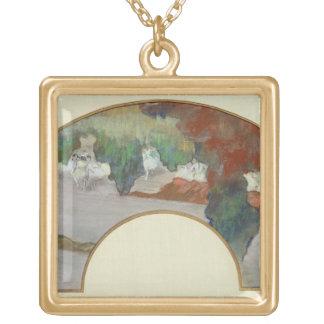 Collier Plaqué Or Fan d'Edgar Degas |, c.1879