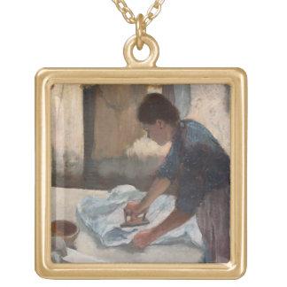 Collier Plaqué Or Femme d'Edgar Degas | repassant, c.1876-87