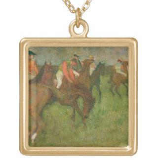 Collier Plaqué Or Jockeys d'Edgar Degas |, 1886-90