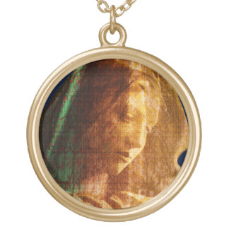 Collier Plaqué Or Mère Mary