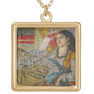 Collier Plaqué Or Pierre Olympia de Renoir |