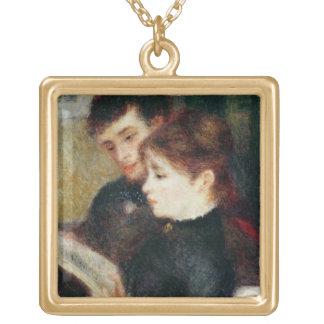 Collier Plaqué Or Pierre une lecture de couples de Renoir |