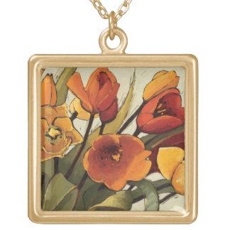 Collier Plaqué Or Temps de tulipe