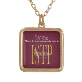 Collier Plaqué Or theCrafter d'ISTP