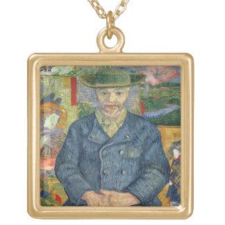 Collier Plaqué Or Vincent van Gogh | Pere Tanguy (père Tanguy)