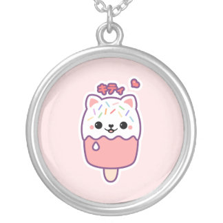 Collier Popsicle mignon de chat