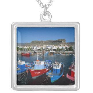 Collier Port de pêche, Puerto de Mogan, mamie Canaria,