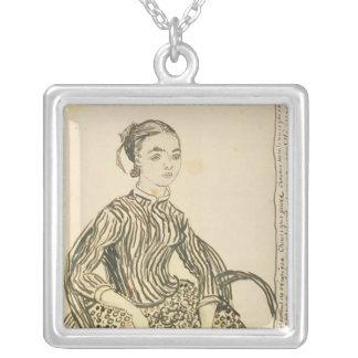 Collier Portrait de Vincent van Gogh | d'une jeune fille,