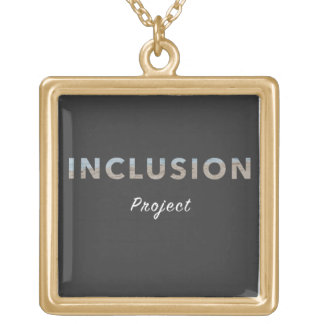 Collier positif de message - le projet d'inclusion