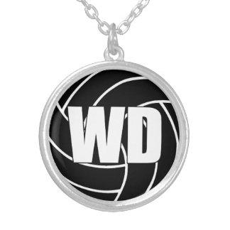 Collier Position de joueurs de net-ball, la défense WD