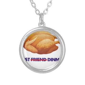 Collier poulet, T-shirt de cadeau de dîner d'ami