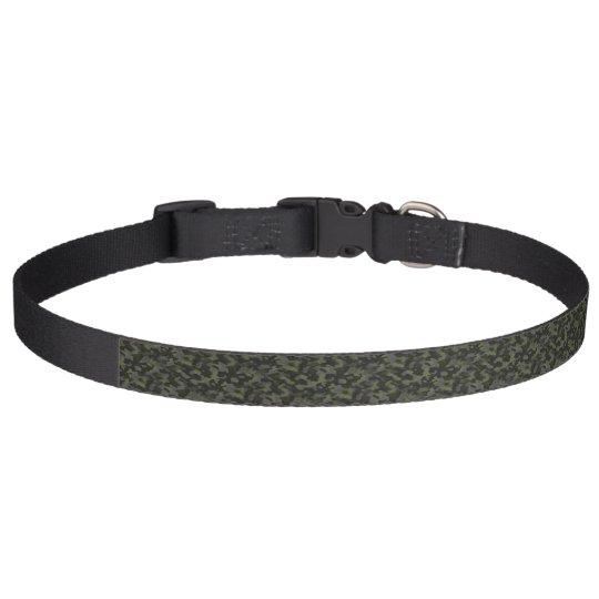 Collier pour chien Camouflage