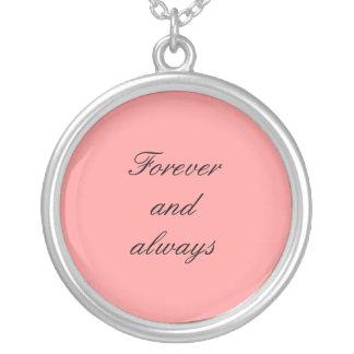 Collier Pour toujours et toujours