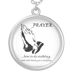 Collier Prière comment ne faire rien