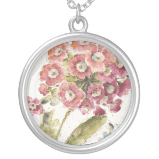 Collier Primevère rose