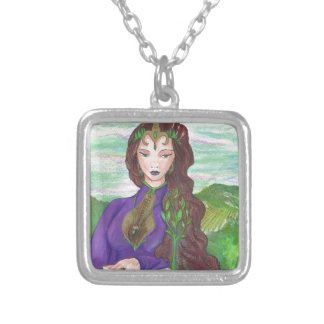 Collier Princesse Healing Earth Plant Growing de licorne