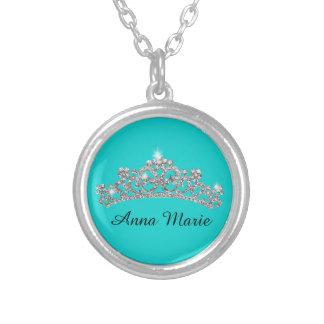 Collier Princesse personnalisée Crown Necklace