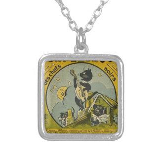 Collier Publicité française vintage