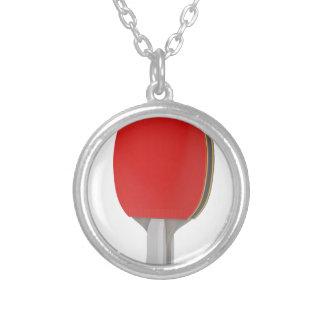 Collier Raquette de ping-pong