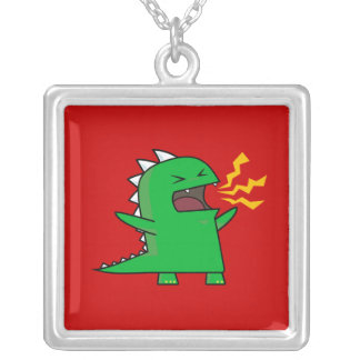 Collier RAWR Dino - personnalisable !
